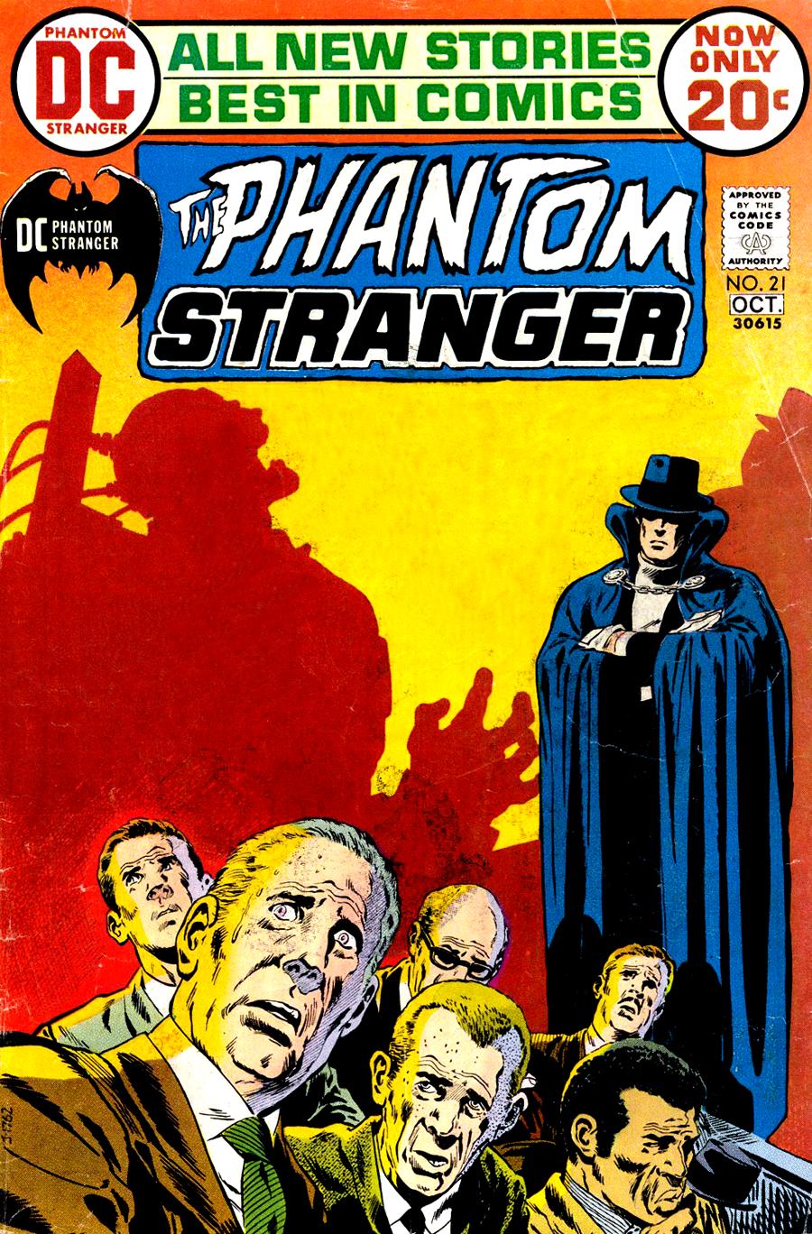 Phantom Stranger #21 cover by Jim Aparo
