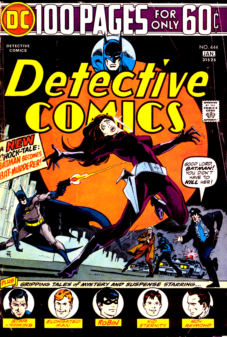 Detective Comics #444 cover by Jim Aparo