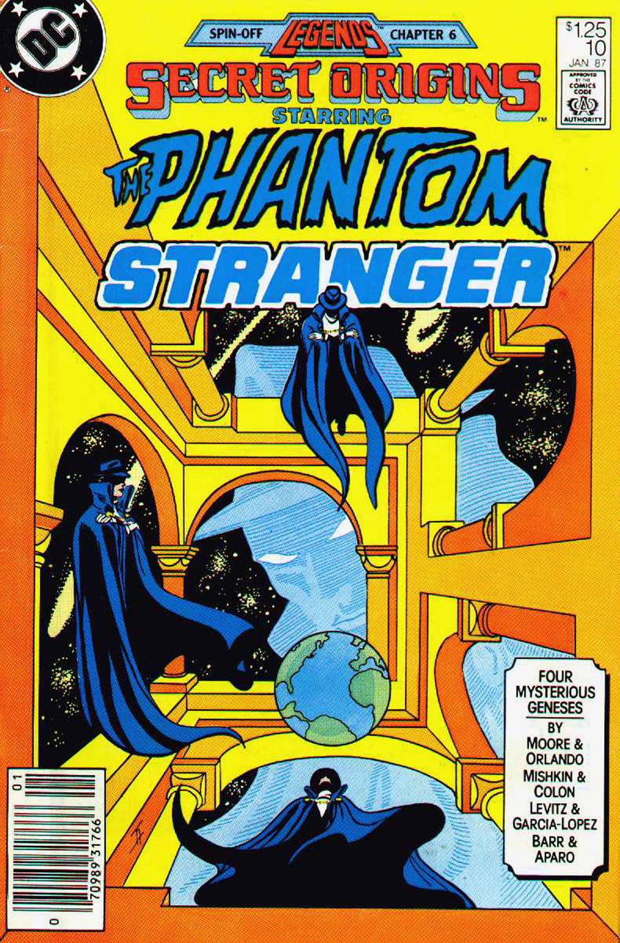 Secret Origins #10 cover by Jim Aparo