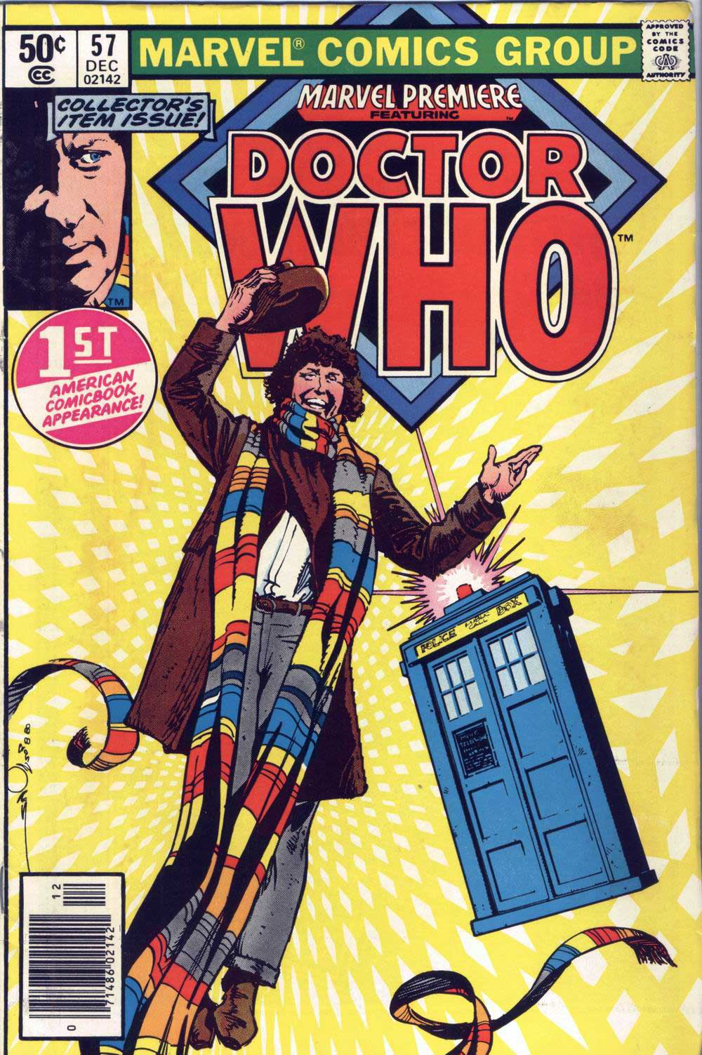 Doctor Who in Marvel Premiere #57 cover by Walt Simonson