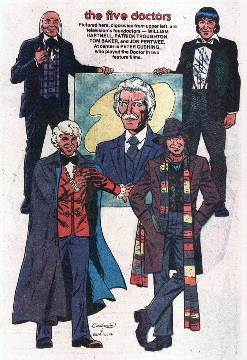 Marvel Premiere #57 with Doctor Who by Dave Cockrum