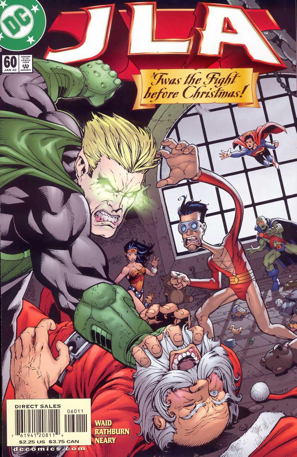 JLA #60 by Mark Waid, Cliff Rathburn, and Paul Neary