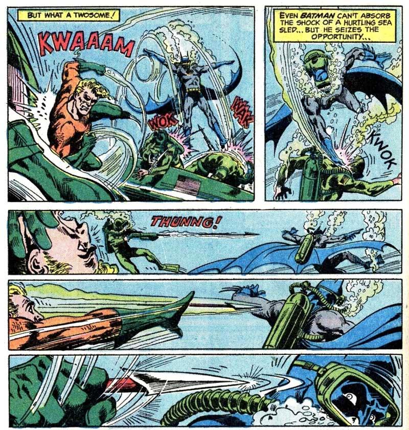 Brave and the Bold #126 featuring Batman and Aquaman by Bob Haney, Jim Aparo and John Calnan