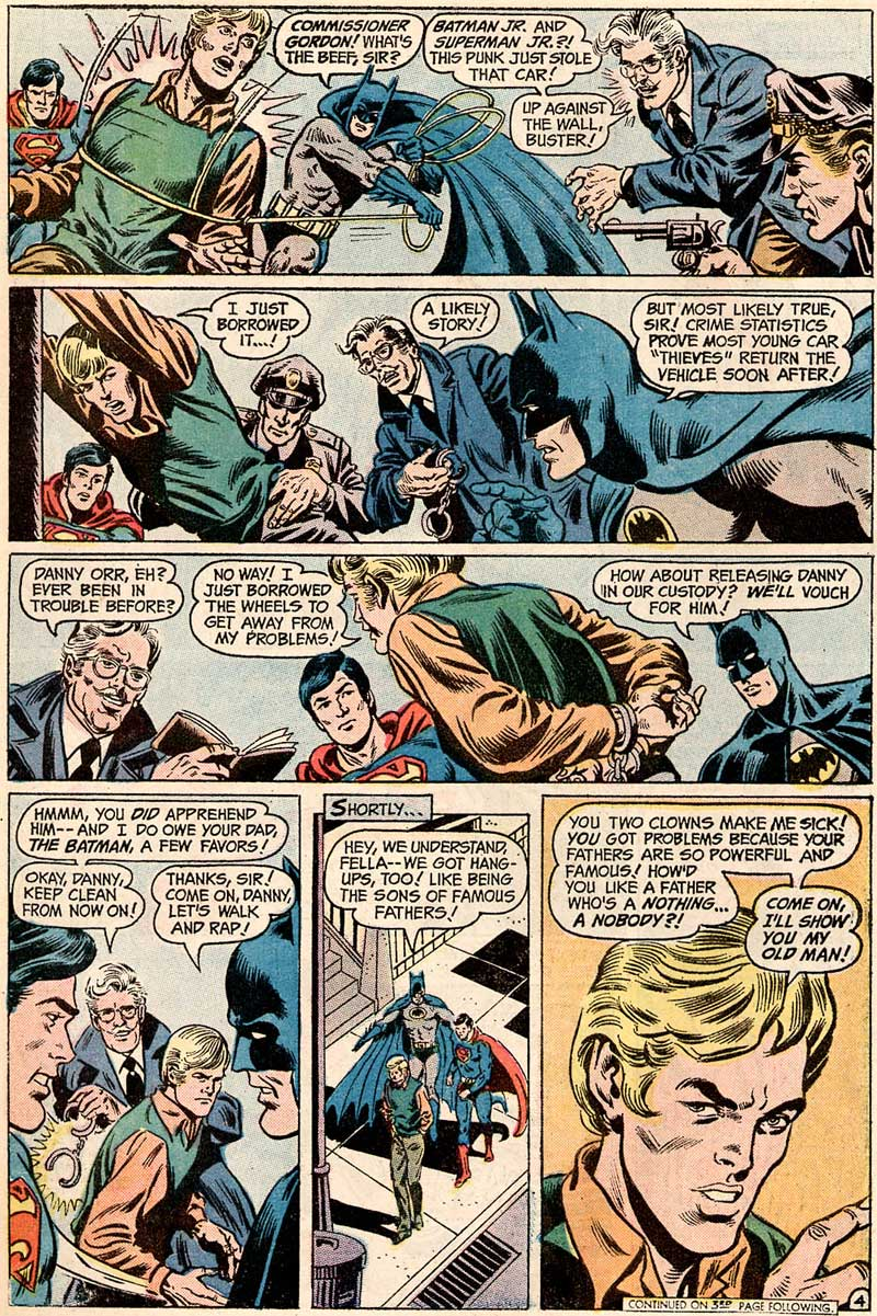 World's Finest #221 featuring the Super Sons by Bob Haney, Dick Dillin and Murphy Anderson