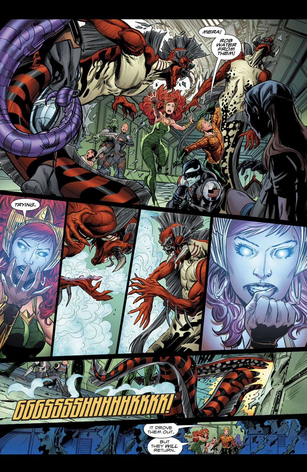 Aquaman #22 by Dan Abnett and Philippe Briones