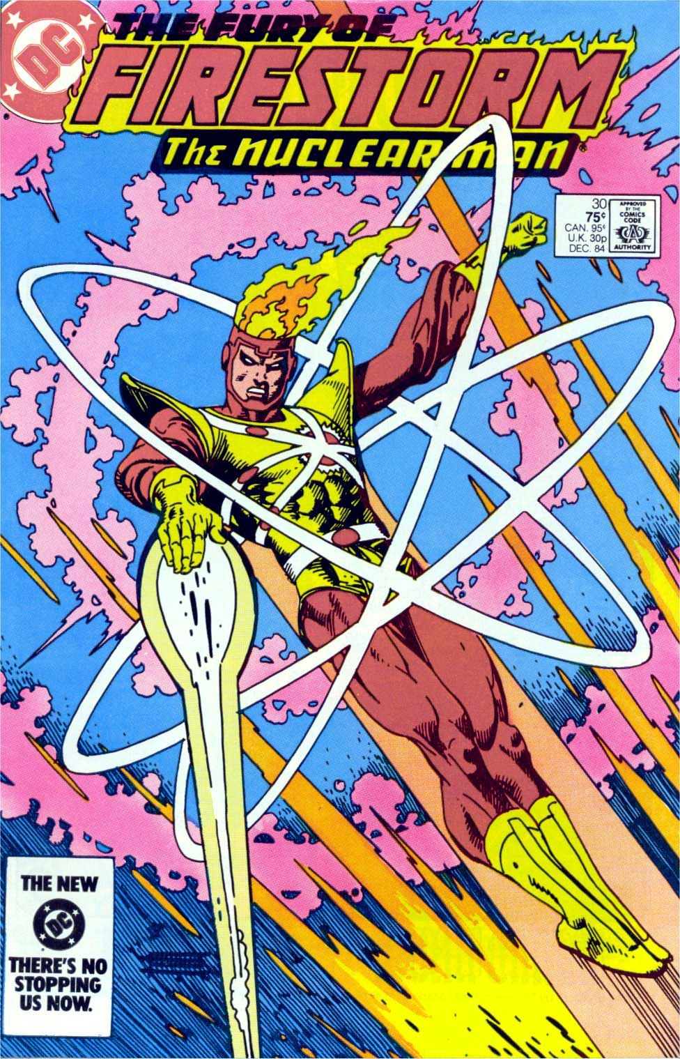 Fury of Firestorm #30 cover by GIl Kane