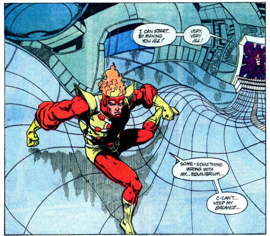 Fury of Firestorm #30 by Joey Cavalieri, Rafael Kayanan and Romeo Tanghal