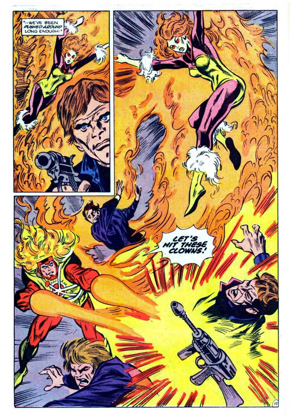 Fury of Firestorm #31 by Gerry Conway, George Tuska and Alex Nino