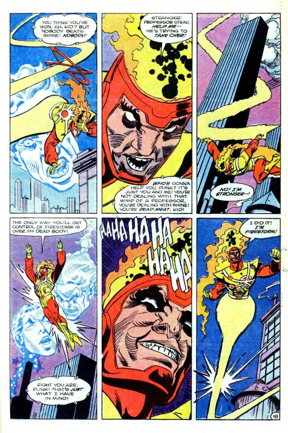 Fury of Firestorm #32 by R.J.M. Lofficier and Alan Kupperberg