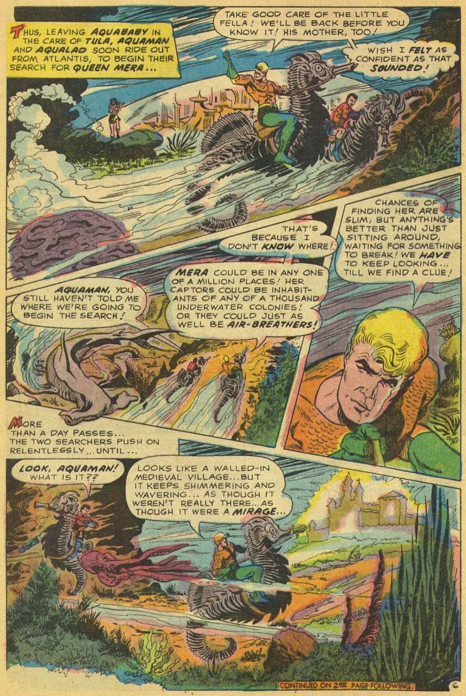 Aquamam #40 by Steve Skeates, Jim Aparo, and Dick Giordano