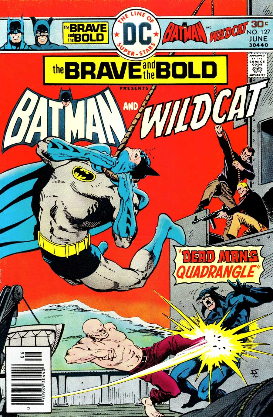 The Brave and the Bold #127 by Bob Haney and Jim Aparo with Batman and Wildcat