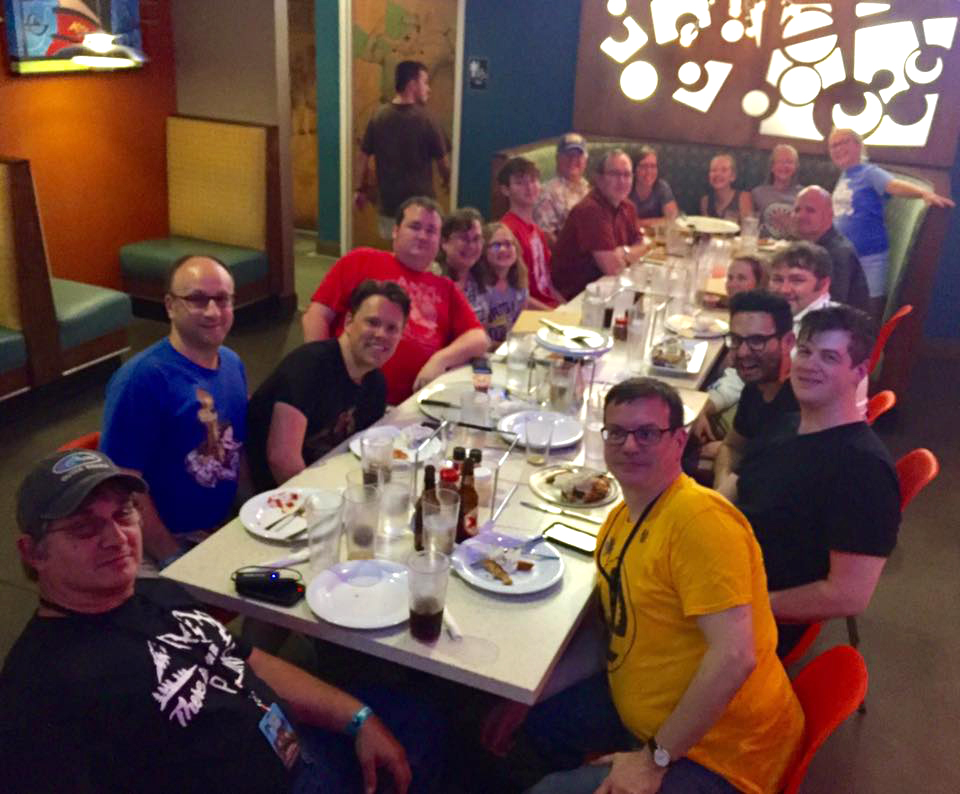 Fire and Water Podcast Network Dinner - Saturday