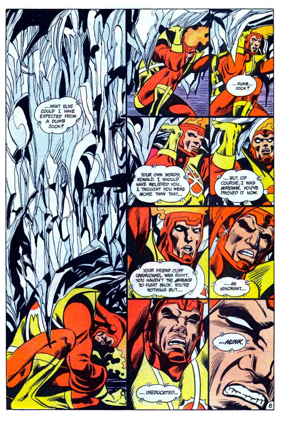 Fury of Firestorm #35 by Gerry Conway, Rafael Kayanan, and Alan Kupperberg