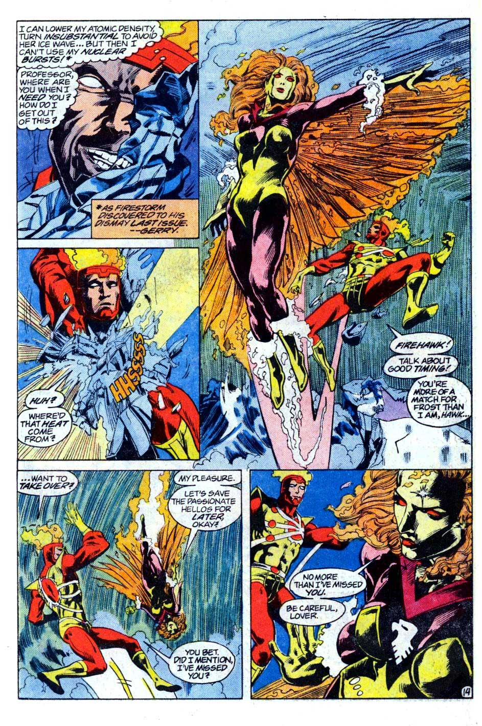 Fury of Firestorm #36 by Gerry Conway, Rafael Kayanan, and Alan Kupperberg