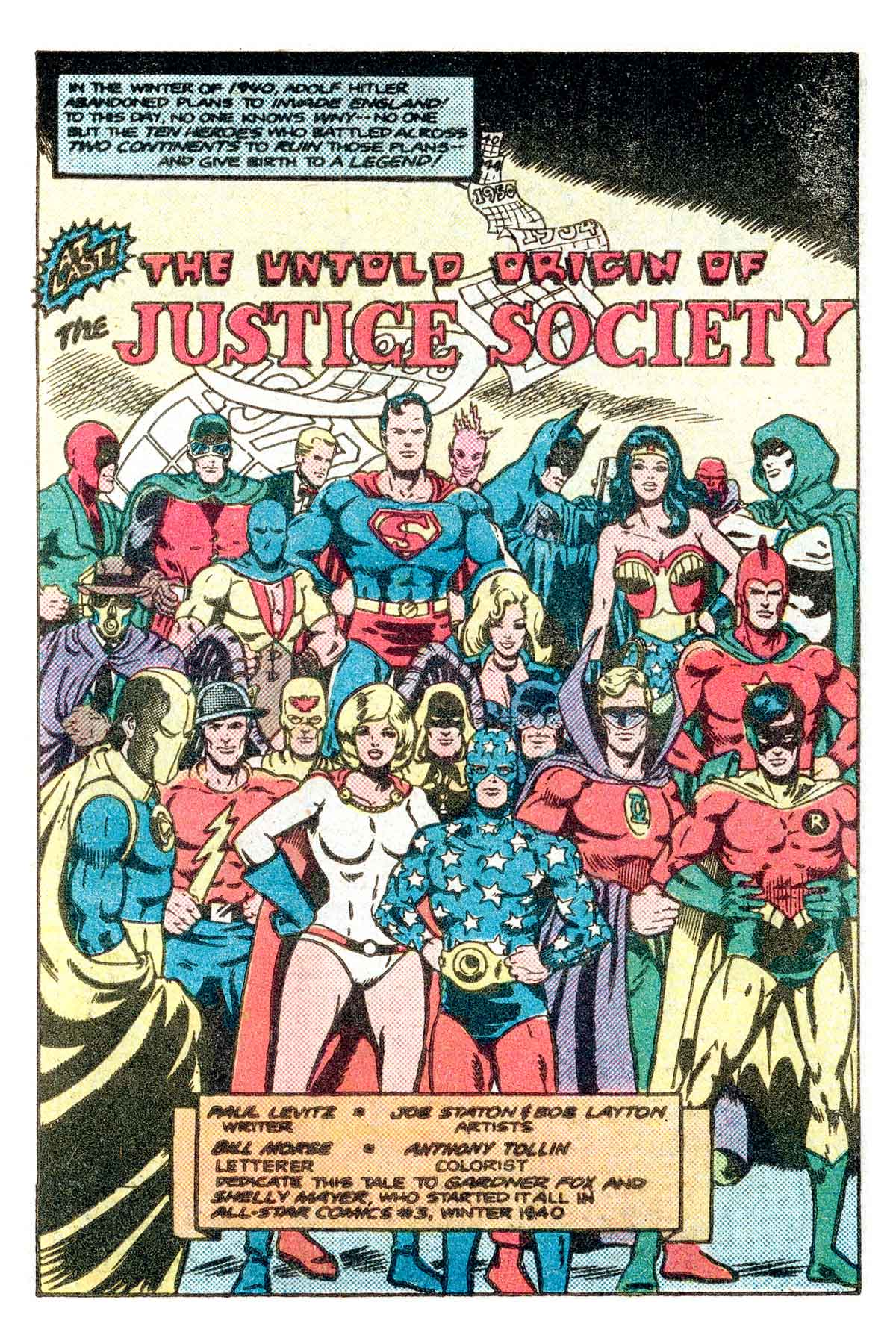 Best of DC Blue Ribbon Digest #21: Justice Society