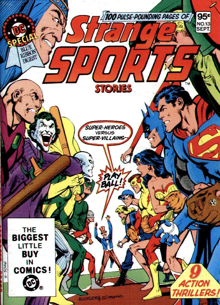 DC Special Blue Ribbon Digest #13 -- Strange Sports Stories