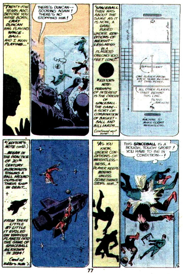 """Warrior of the Weightless World"" (Spaceball) by John Broome, Carmine Infantino, Joe Giella"