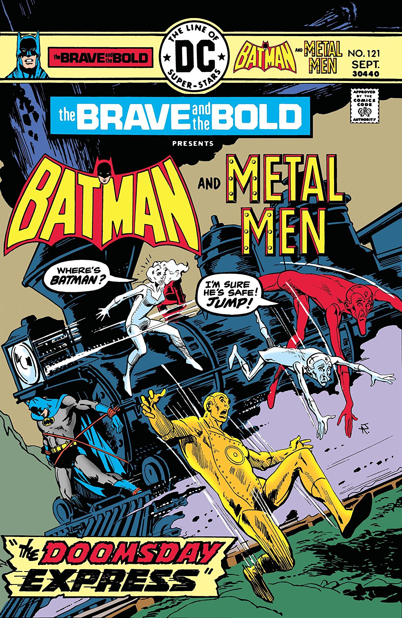 Brave & the Bold #121 cover by Jim Aparo
