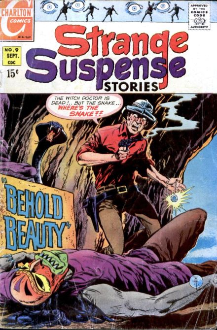 Strange Suspense Stories #9 cover by Jim Aparo