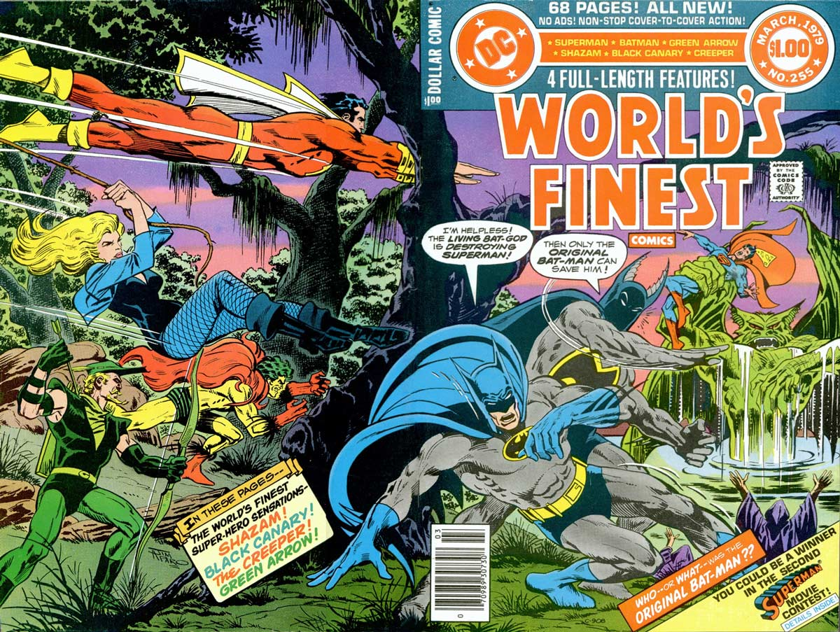 World's Finest #255 cover by Jim Aparo