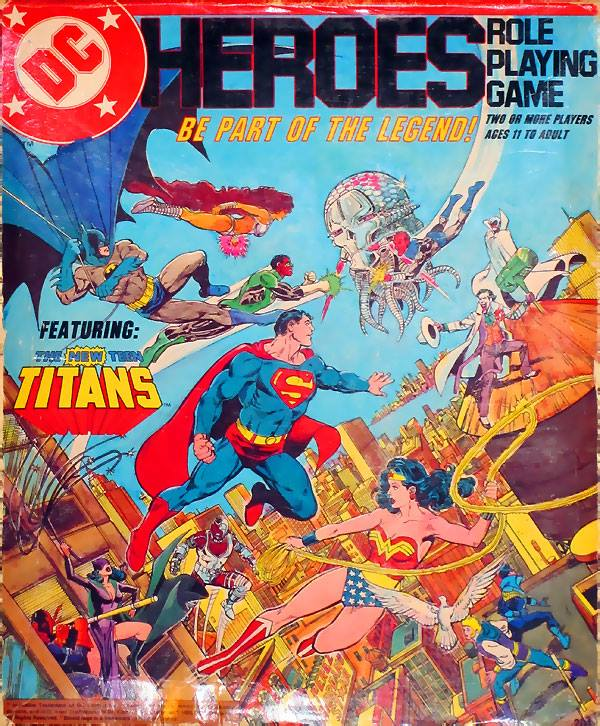 DC Heroes Role-Playing Game from Mayfair