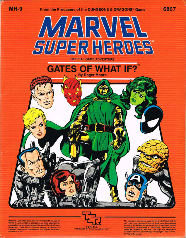 Marvel Super-Heroes Role-Playing Game from TSR