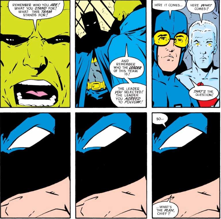 Justice League International #13 by JM DeMatteis, Keith Giffen, and Al Gordon