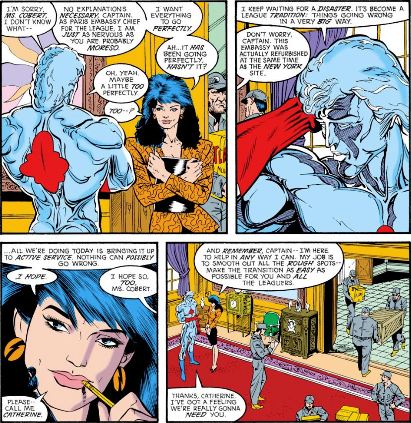 Justice League Europe #1 by Keith Giffen, JM DeMatteis, Bart Sears and Pablo Marcos