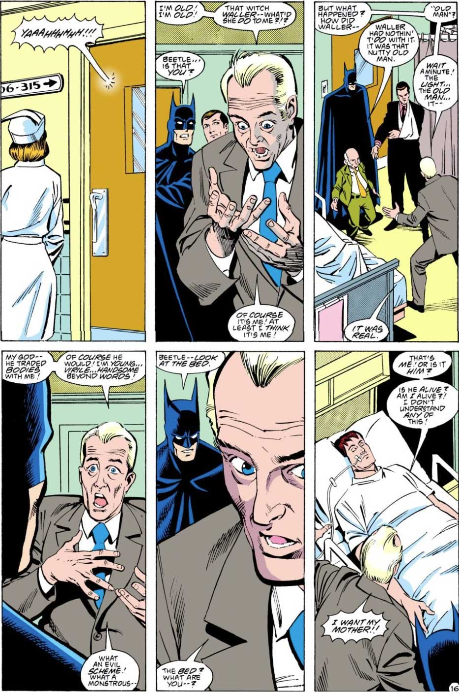 Justice League America #29 by Keith Giffen, J.M. DeMatteis, Ty Templeton, and Joe Rubinstein