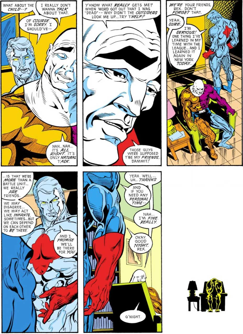 Justice League Europe #5 by Keith Giffen, J.M. DeMatteis, Bart Sears and Joe Rubinstein