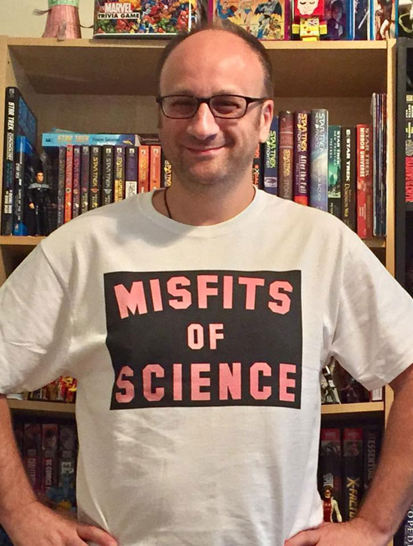 Unlicensed Misfits of Science T-shirt