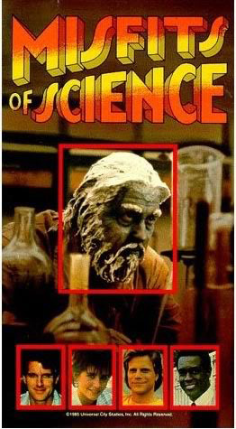 US Misfits of Science VHS release 1987