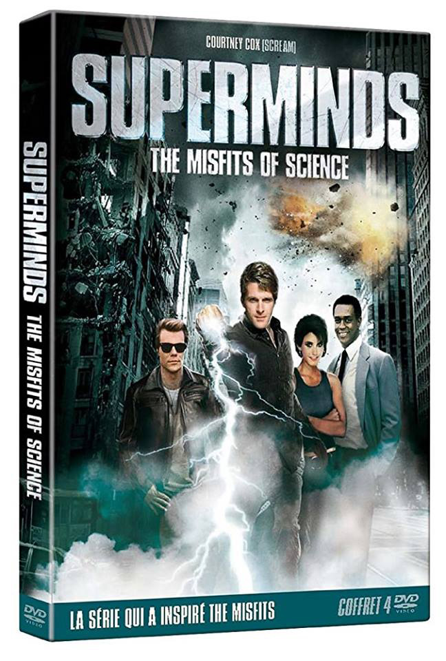 French Misfits of Science DVD (2012) - Superminds