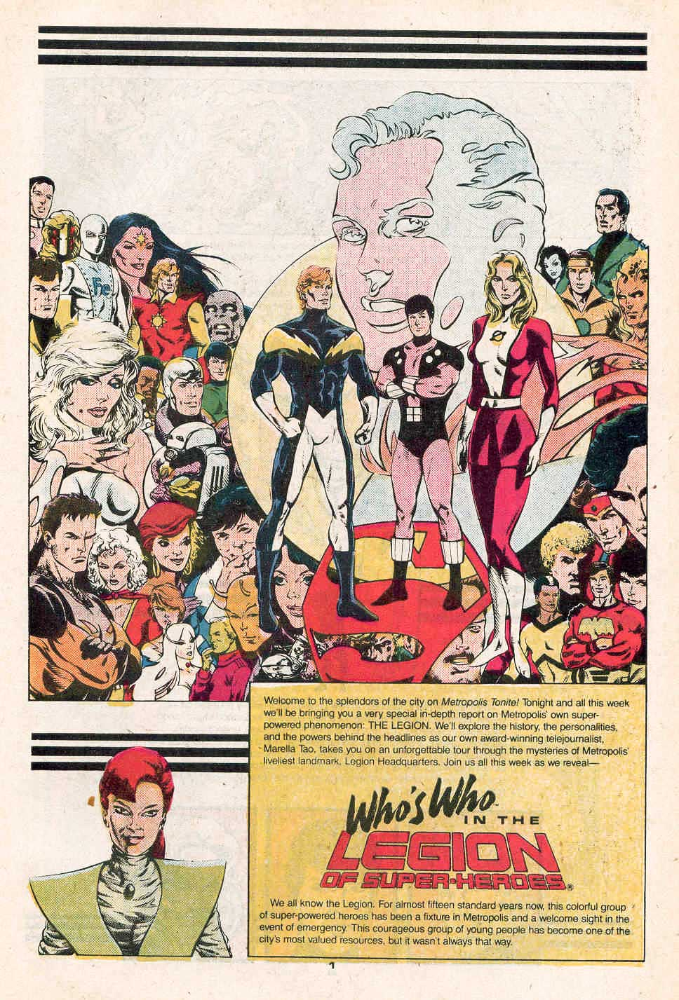 Who's Who in the Legion of Super-Heroes #1 art by Steve Lightle