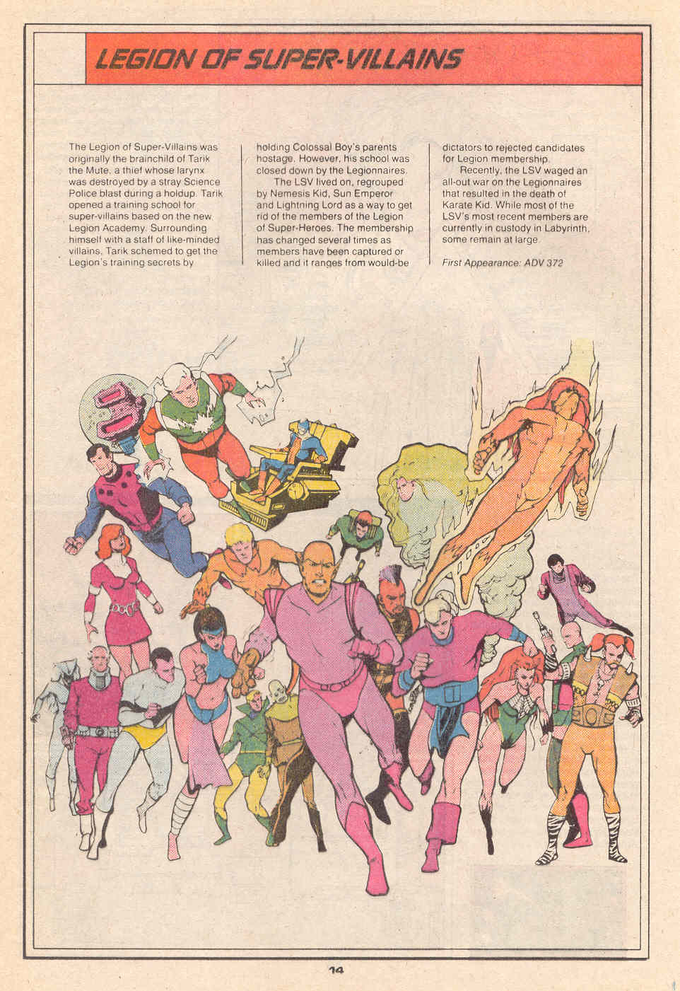 Legion of Super-Villains by Ty Templeton - Who's Who in the Legion of Super-Heroes #4