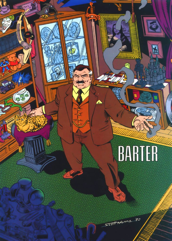 Who's Who in the DC Universe #4 - Barter by Scott Hanna