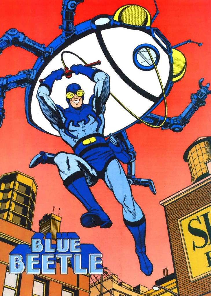 Who's Who in the DC Universe #4 - Blue Beetle art by Ty Templeton