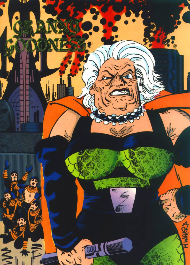 Who's Who in the DC Universe #4 - Granny Goodness by Matt Wagner