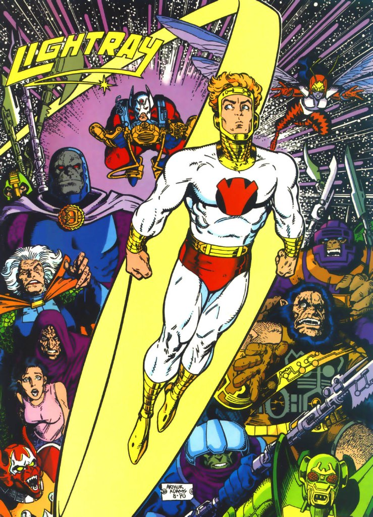 Who's Who in the DC Universe #4 - Lightray by Art Adams