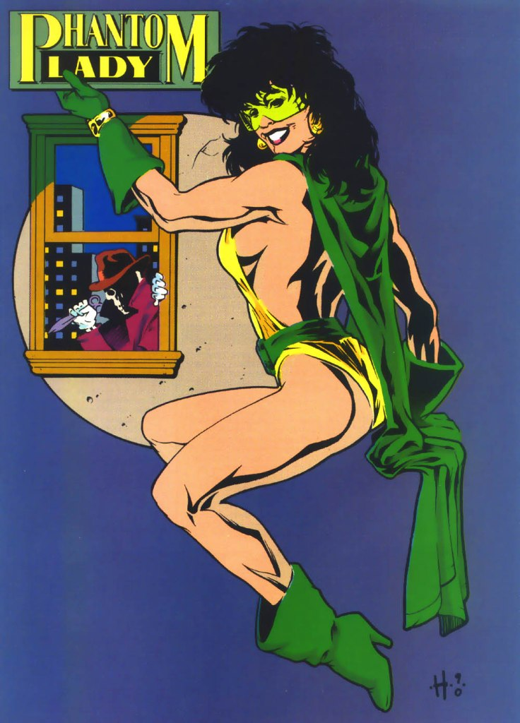 Who's Who in the DC Universe #4 - Phantom Lady by Adam Hughes