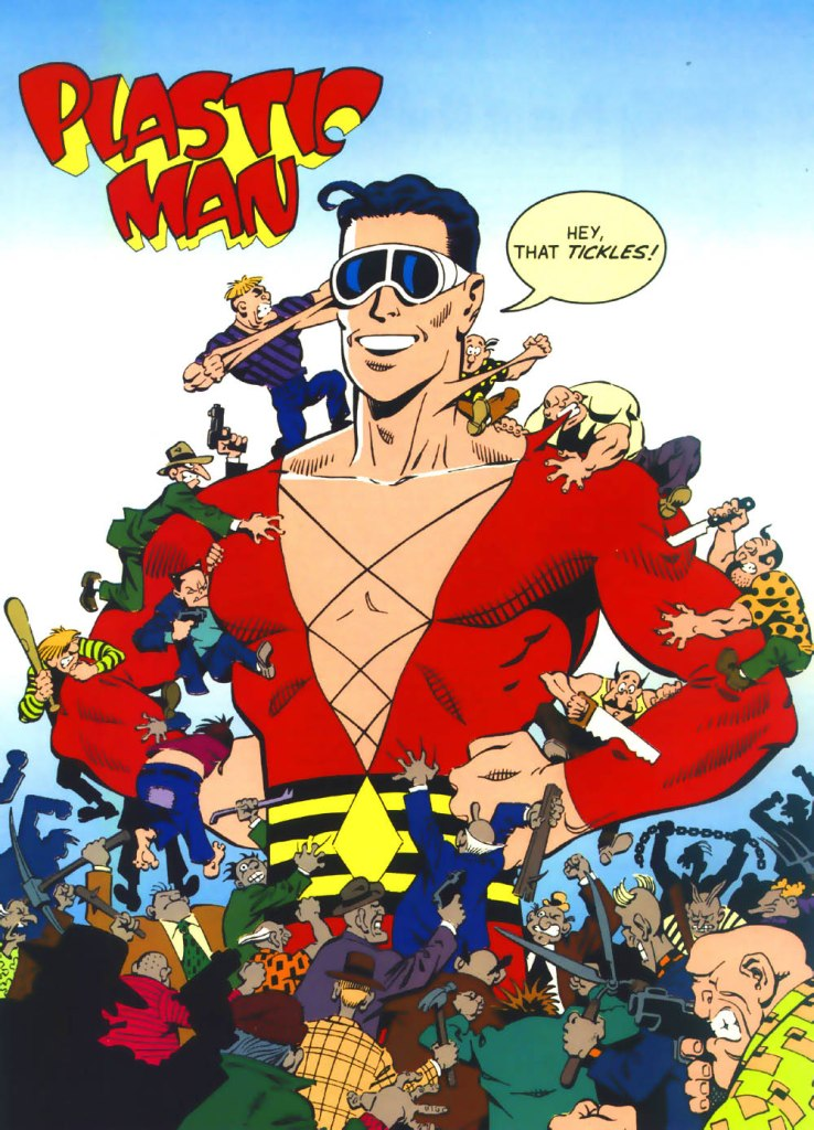 Who's Who in the DC Universe #4 - Plastic Man art by Hilary Barta