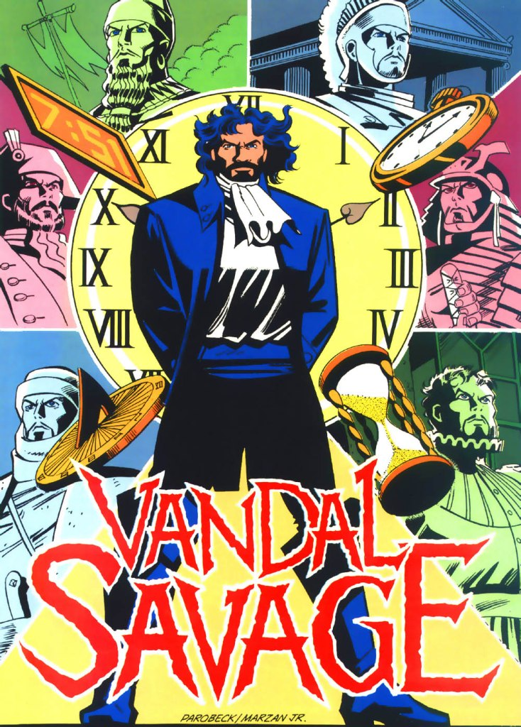 Who's Who in the DC Universe #4 - Vandal Savage by Mike Parobeck and Jose Marzan