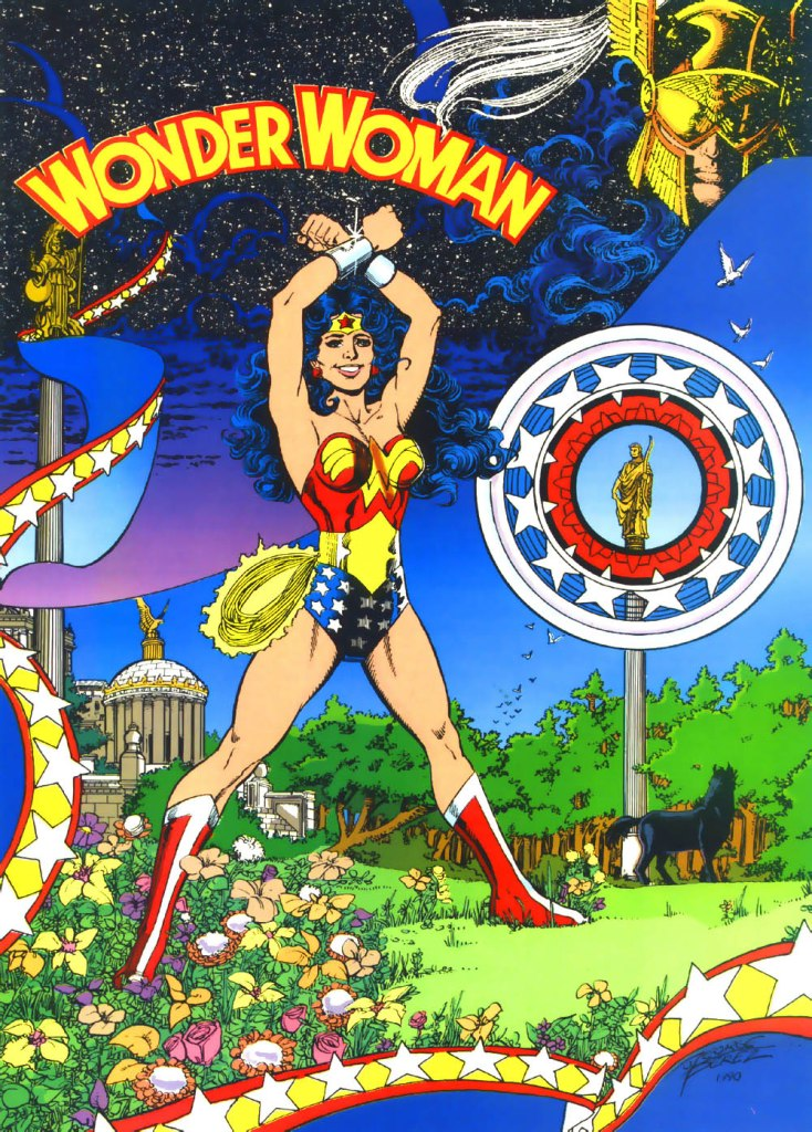 Who's Who in the DC Universe #4 - Wonder Woman by George Perez