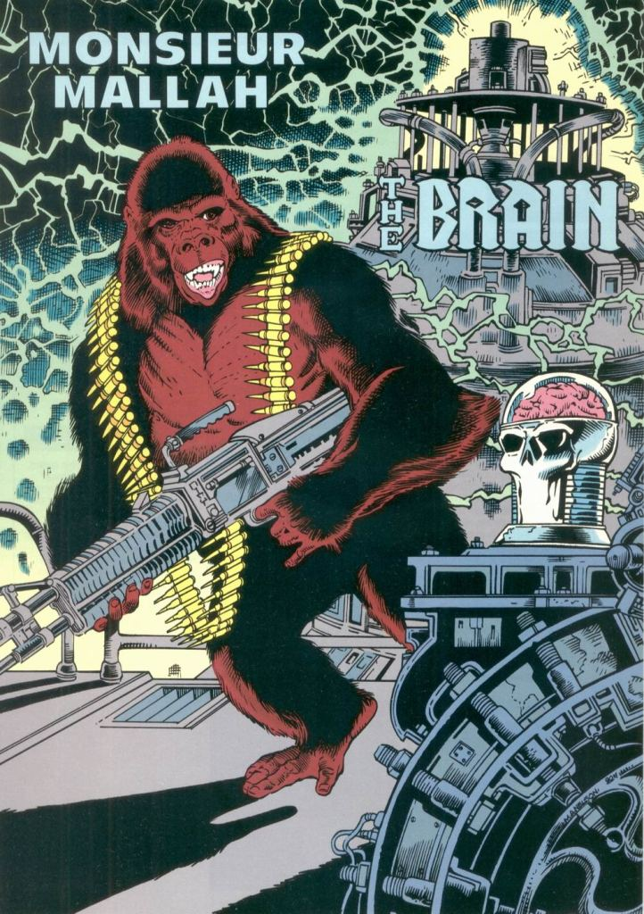 Who's Who in the DC Universe #8 - Monsieur Mallah and The Brain by Mark Nelson