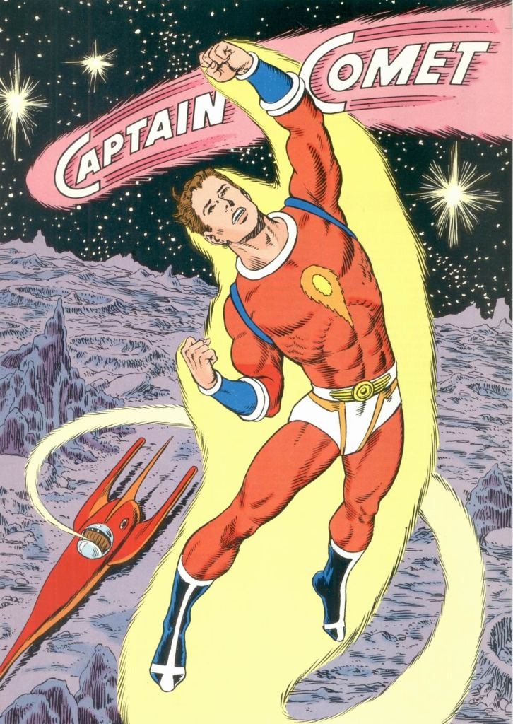 Who's Who in the DC Universe #8 - Captain Comet by Murphy Anderson