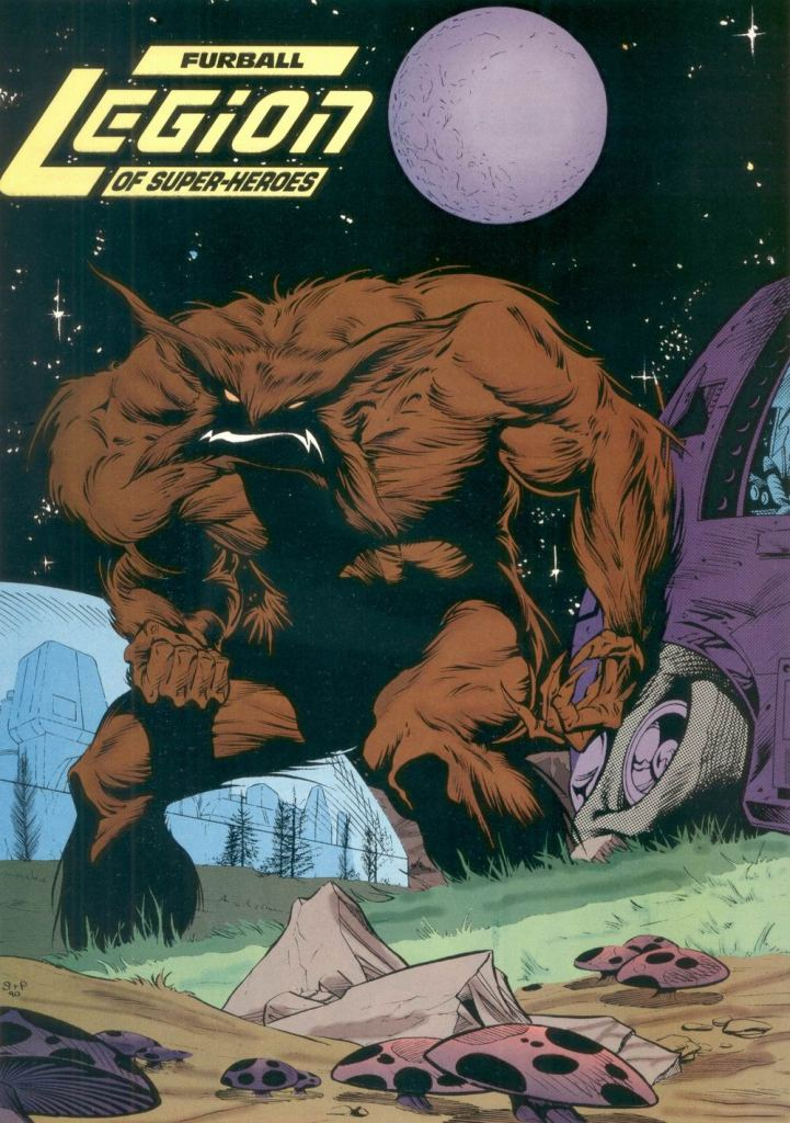 Who's Who in the DC Universe #8 - Furball (Timber Wolf) by Bart Sears and Mark Pennington