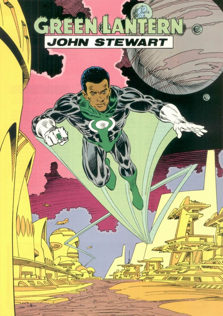 Who's Who in the DC Universe #8 - Green Lantern John Stewart by Mark Bright and Romeo Tanghal