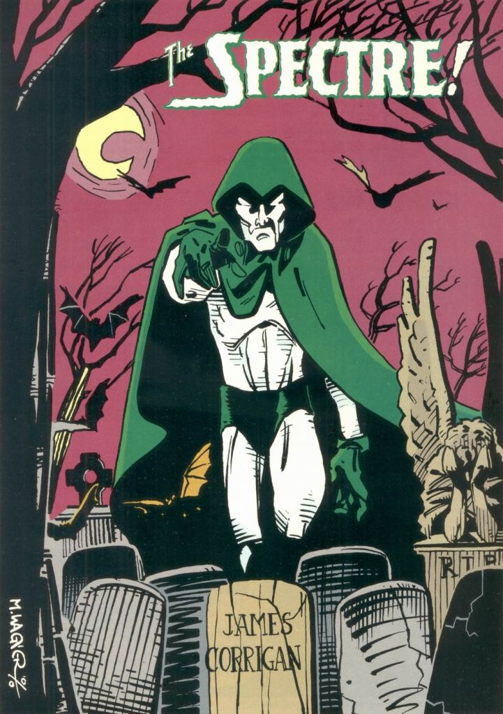 Who's Who in the DC Universe #8 - The Spectre by Matt Wagner