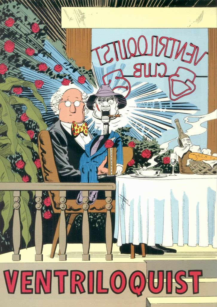 Who's Who in the DC Universe #8 - Ventriloquist by Norm Breyfogle