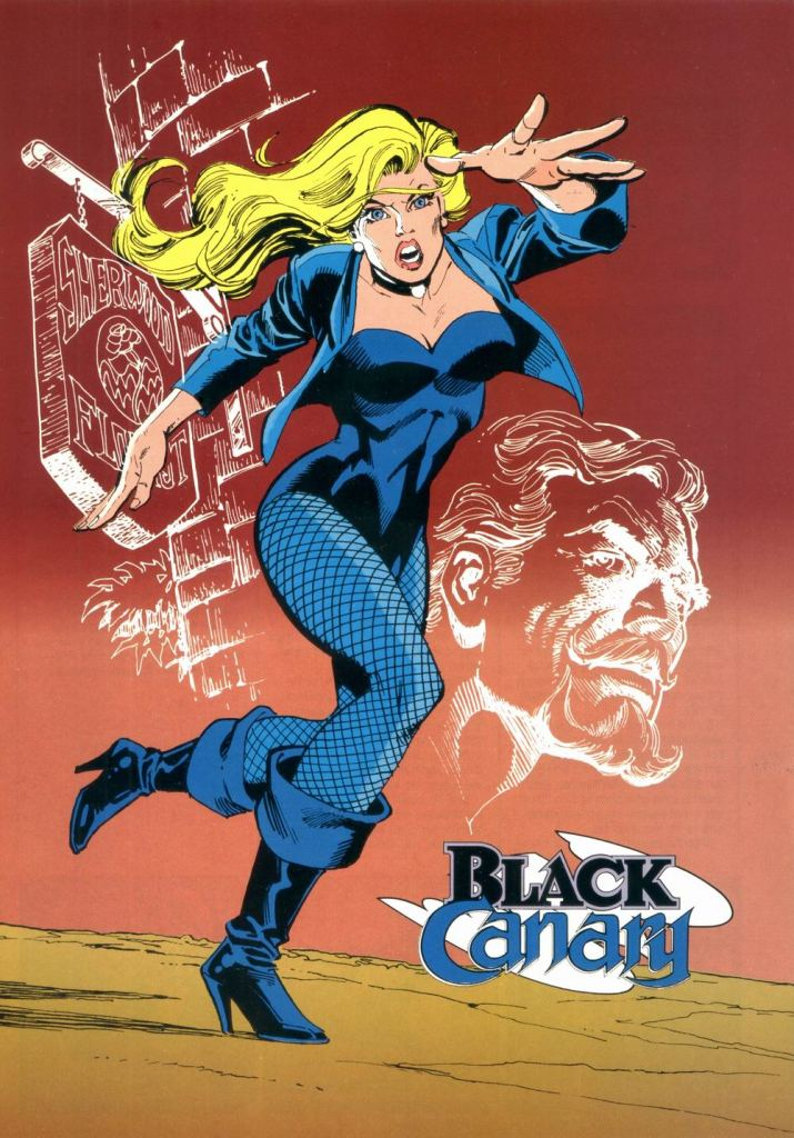 Who's Who in the DC Universe #9 - Black Canary by Dick Giordano